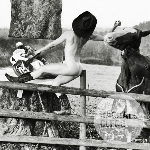 Image of 'Greeba - The Bucking Bronco' Limited Edition Art Print