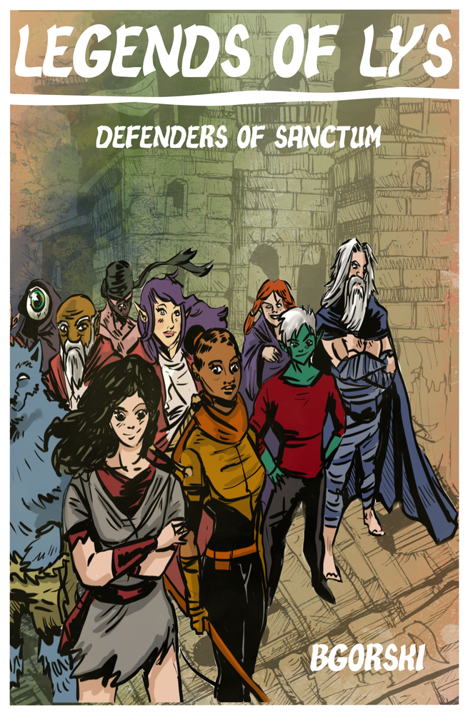 Image of Legends Of Lys Vol. 1: Defenders of Sanctum TPB