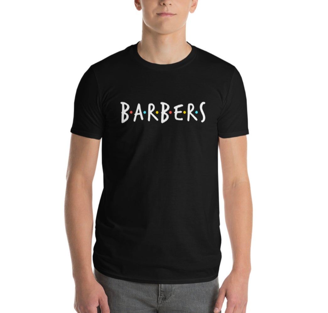 """Image of """"BARBERS"""" Official T-shirt!"""