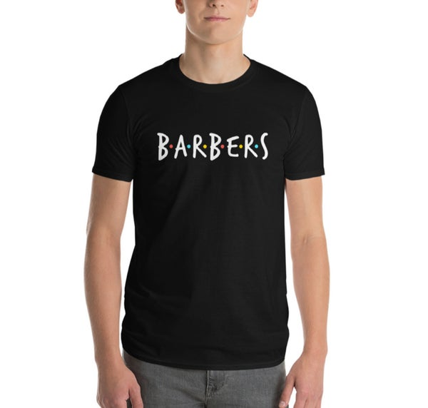 """Image of """"BARBERS� Official T-shirt!"""