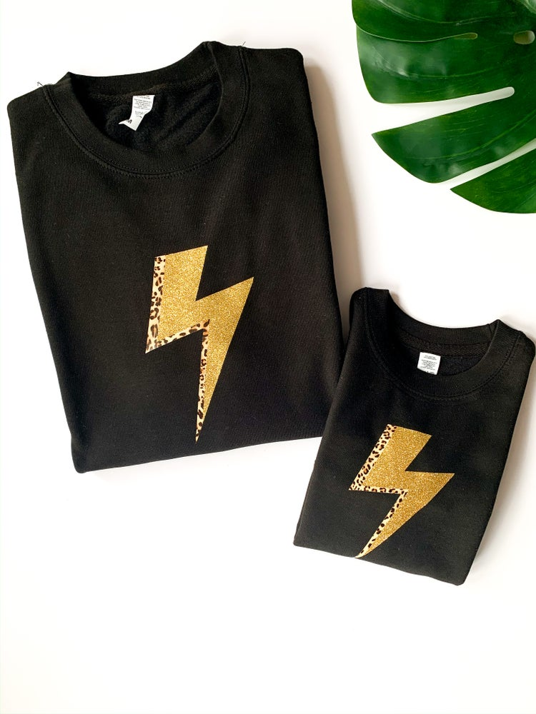 Image of Lightning Bolt Sweatshirt - Adult