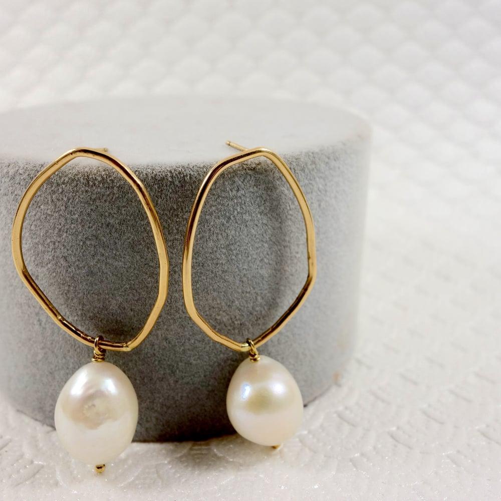 Image of Organic Panama Earring