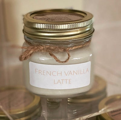 Image of French vanilla latte soy candle