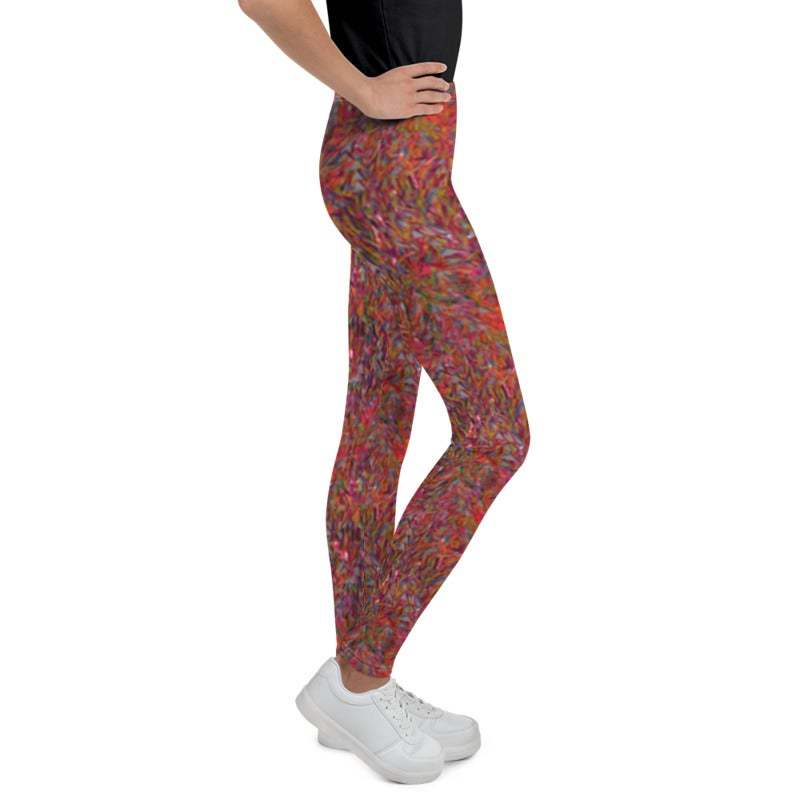 Image of Girl's Party Sequin Yoga Pants