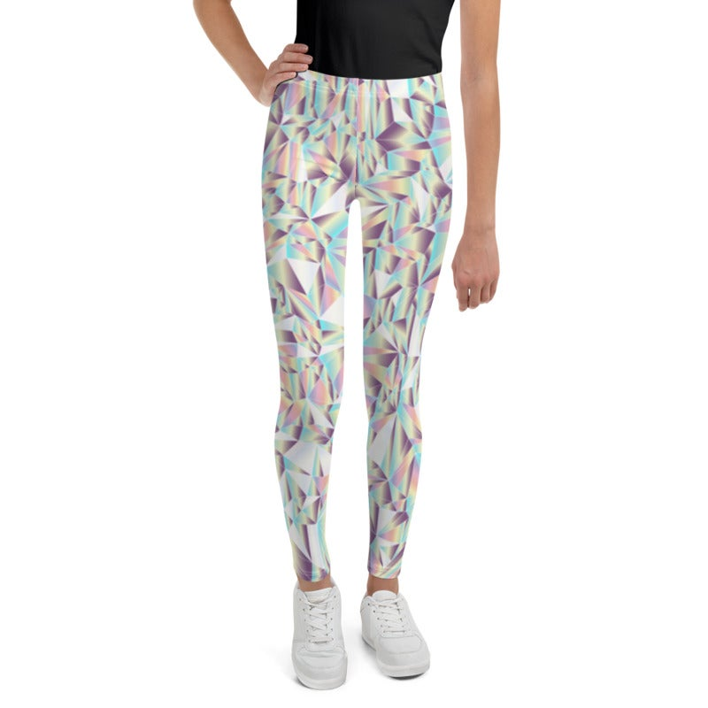 Image of Girl's Crystal Yoga Pants