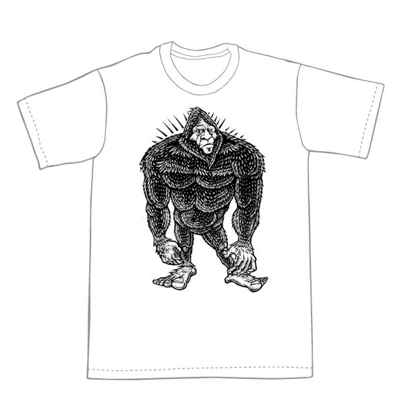 Image of Bigfoot T-shirt **FREE SHIPPING**