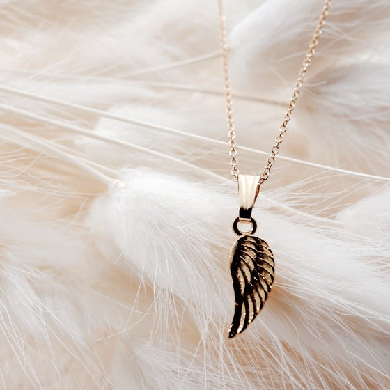 Image of Angel Pendant- 14k