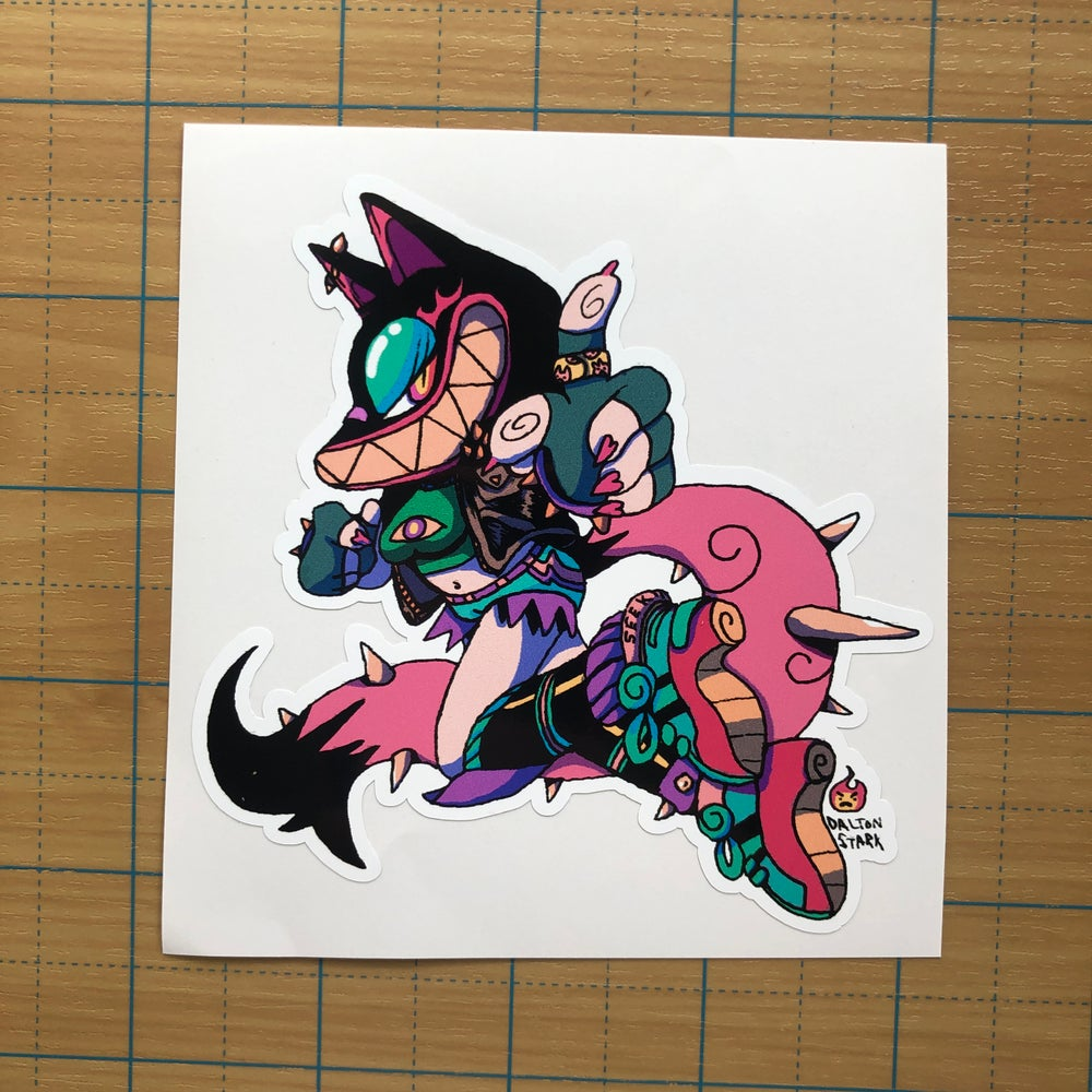 Image of Foxy Lady Sticker
