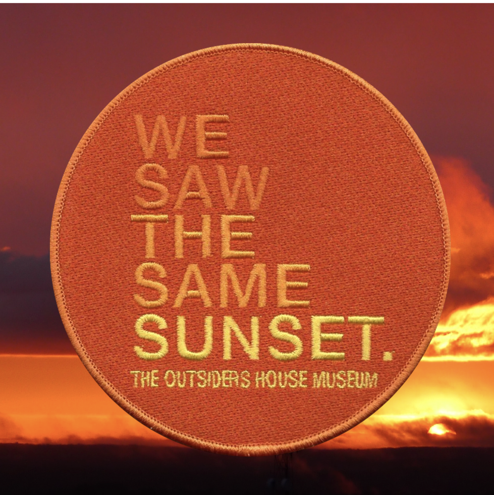 Image of We Saw The Same Sunset Patch.