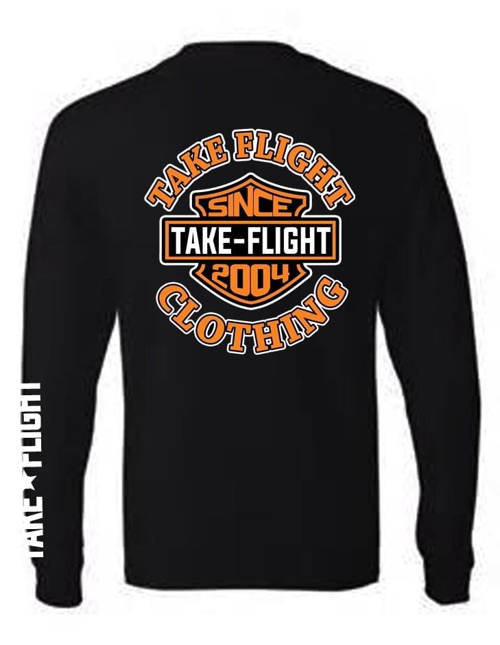 Image of Take Flight Badge & Shield