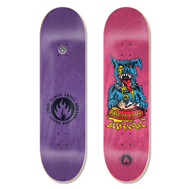 "Image of Patrick Ryan ""Sick Dog"" 8.25″ x 32.12″ deck"