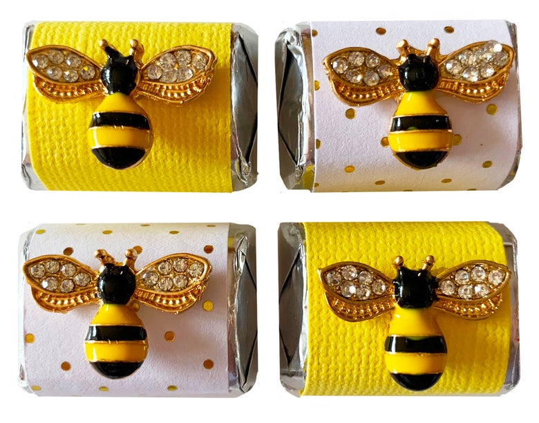 Image of Bejeweled Queen Bee Chocolate Nugget 4 pack