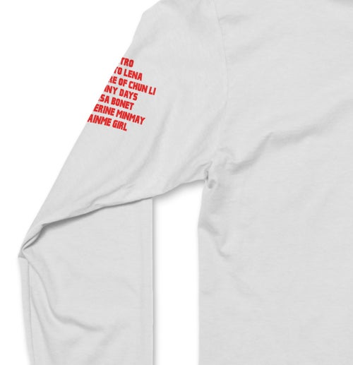 Image of Fm Anime Girls Hate Dave Longsleeve Tee