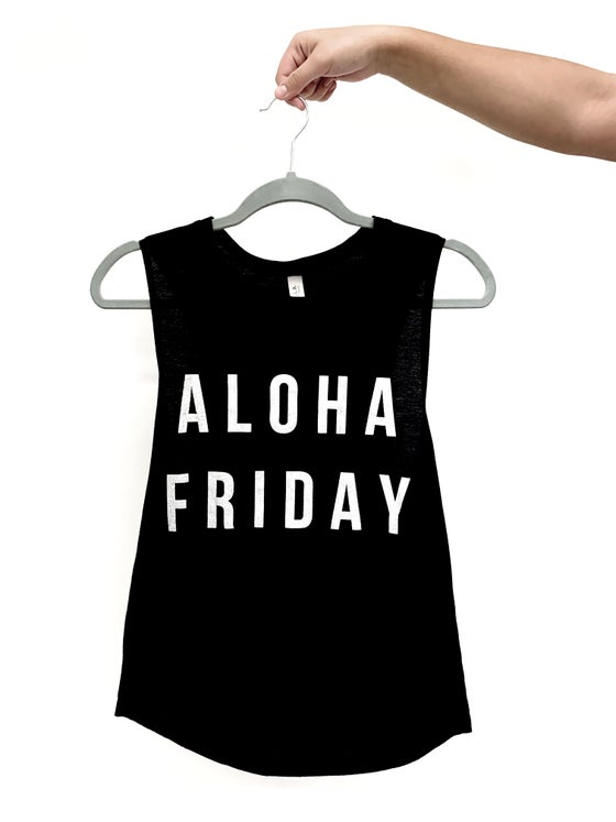 Image of ALOHA FRIDAY GRAPHIC TEE - ʻELEʻELE