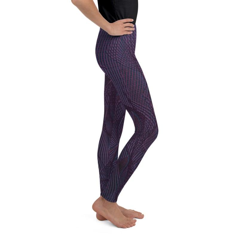 Image of Girl's Lineplay Yoga Pants