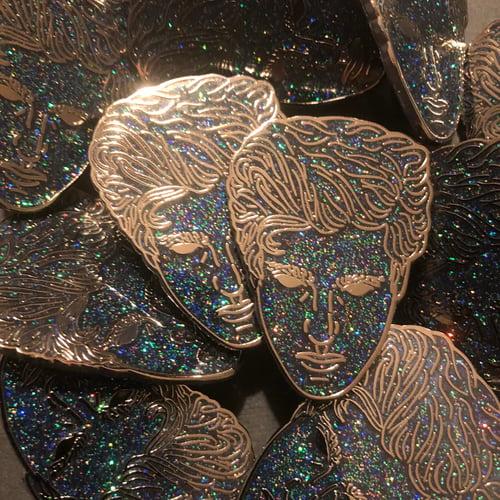 Image of Gesa Prince of Darkness (Hard Enamel Pins)