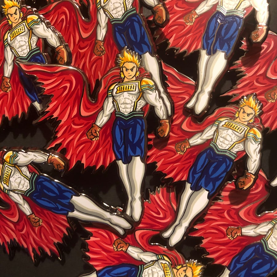 Image of POWERRR!! (Hard Enamel Pin)
