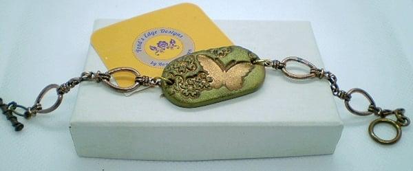 Image of Bronze Butterfly Bracelet