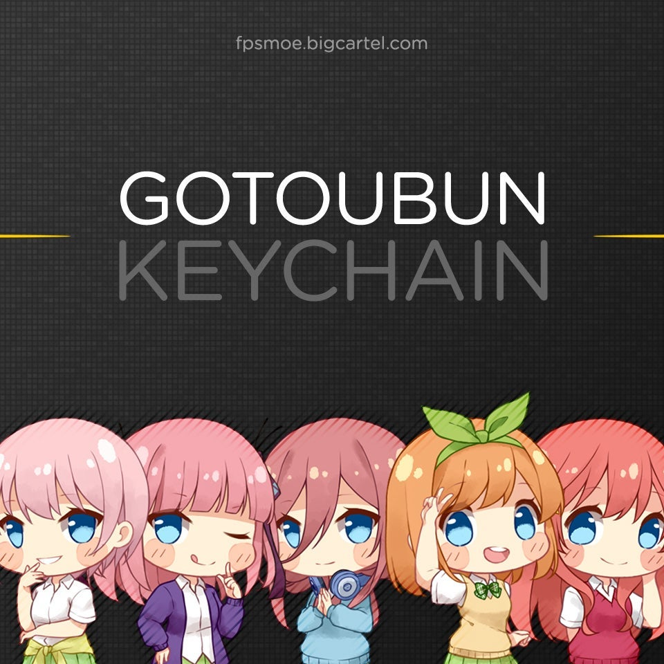 Image of More Keychain by Rizumary