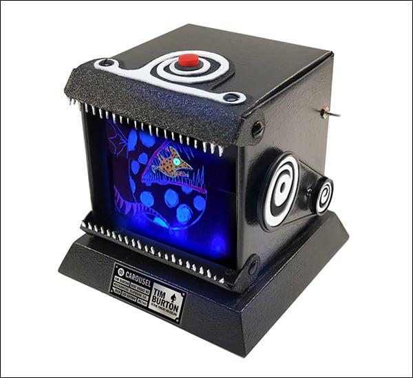 Image of Carousel FlipBook - Motorized with UV LEDs