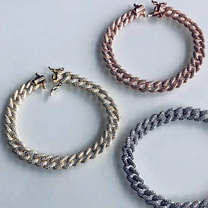 Image of Luxe Herringbone Bracelet