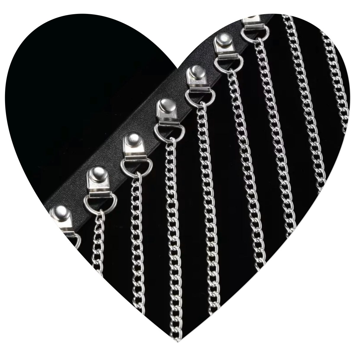Image of Chained Shimmy Belt