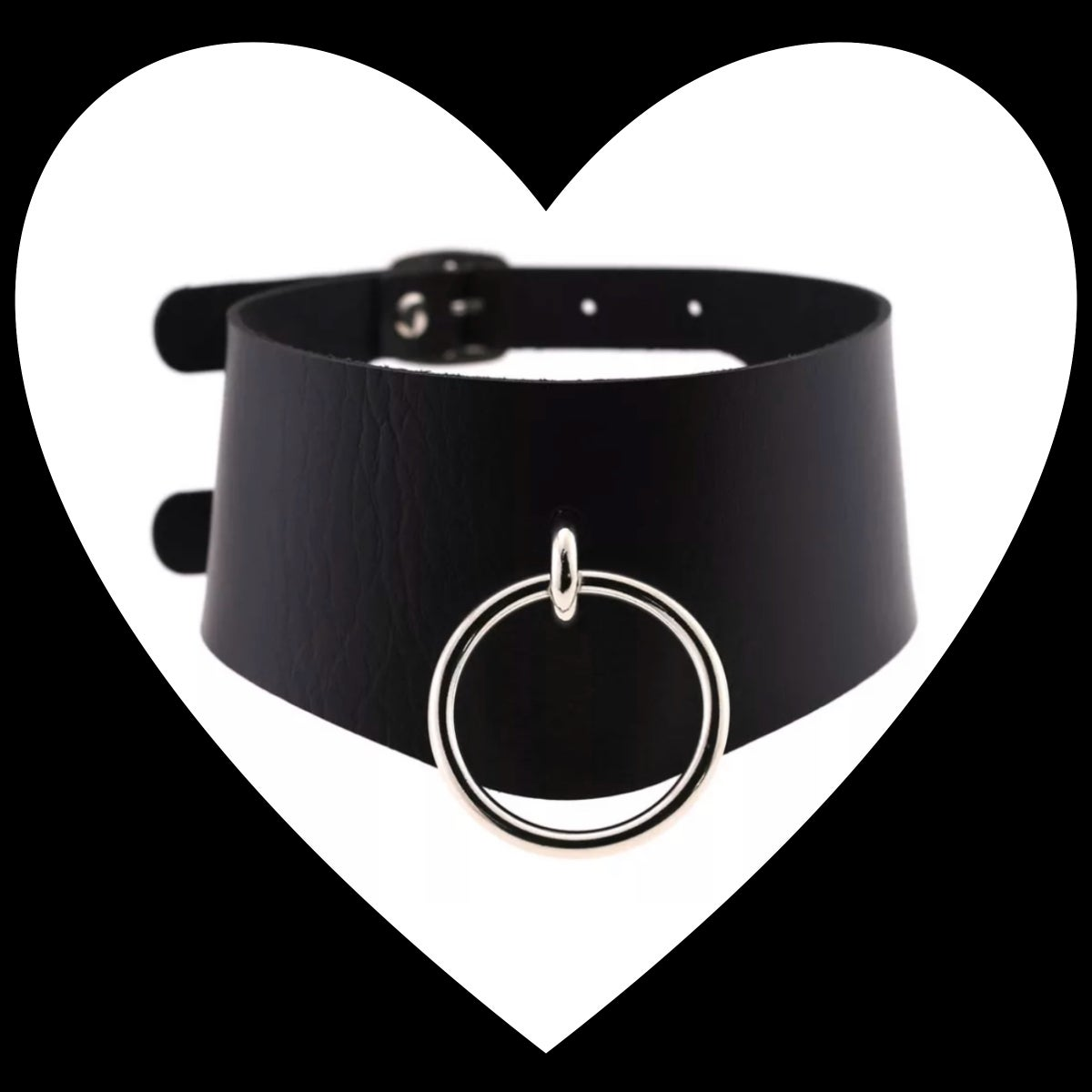 Image of Wide O-Ring Choker