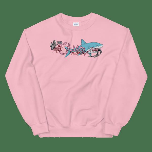 Image of Scuba-Snack Pink Sweat Shirt