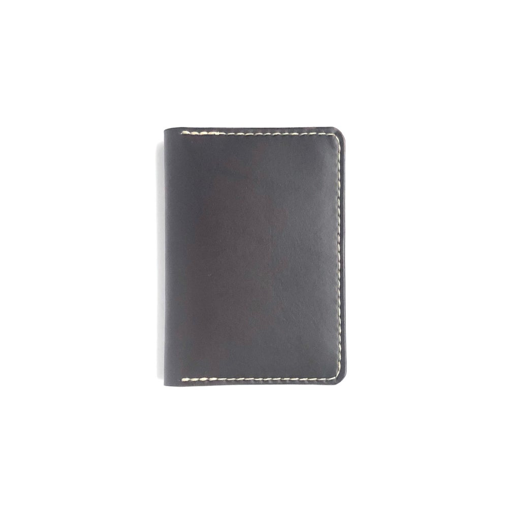 Image of Passport Wallet - Dark Brown