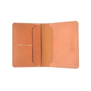 Image of Passport Wallet - Tan