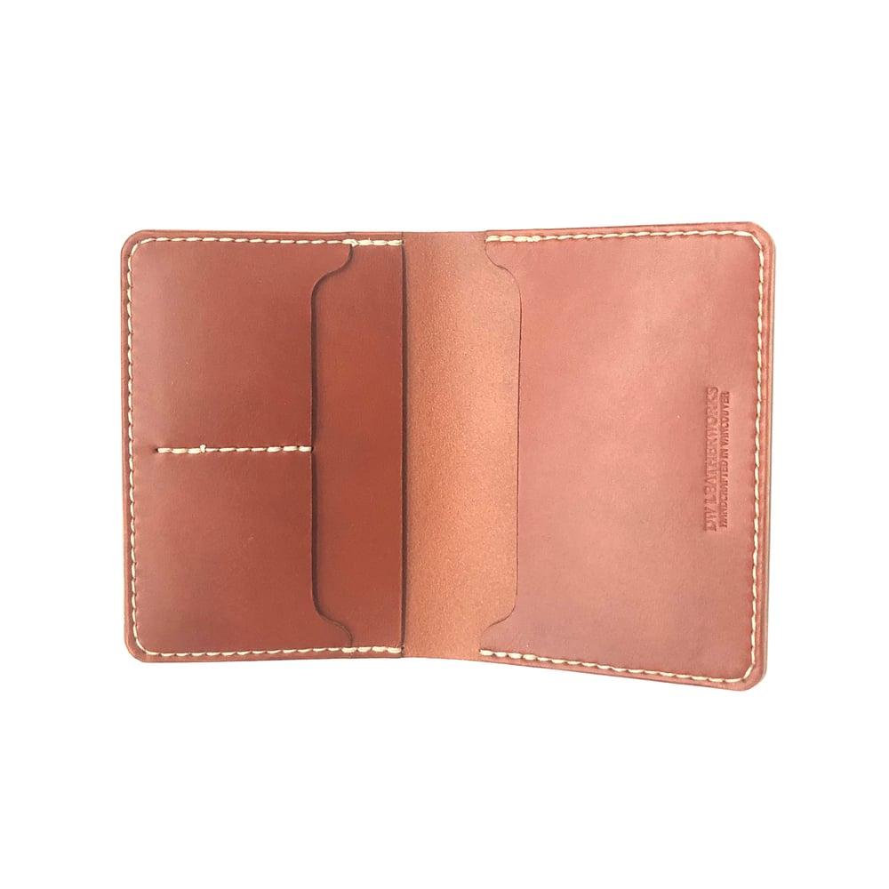 Image of Passport Wallet - Chestnut