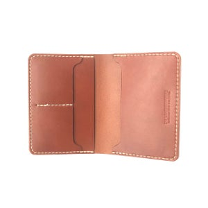 Image of Passport Wallet - Chestnut