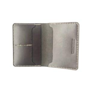Image of Passport Wallet - Dark Brown