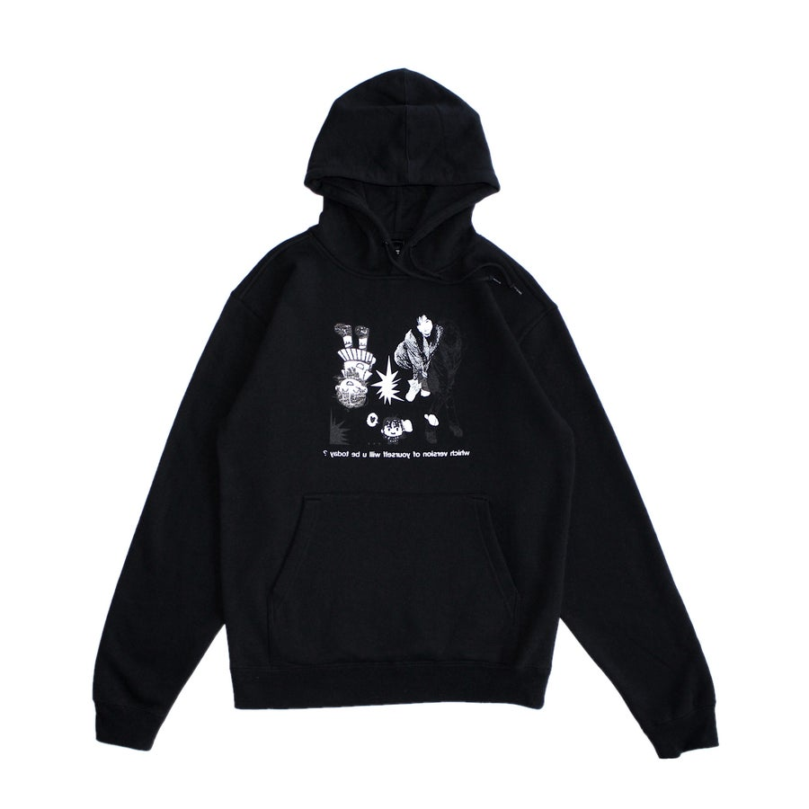Image of REFLECTION HOODIE (BLACK)