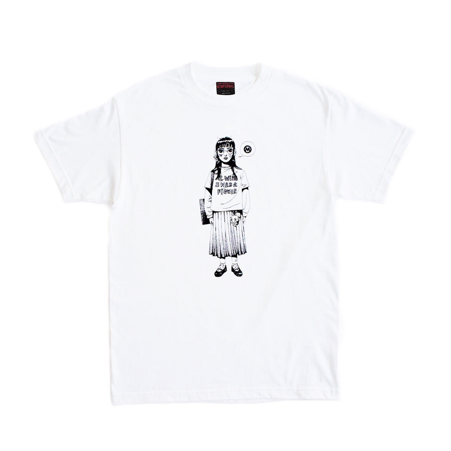 Image of FLOWER TEE (WHITE)