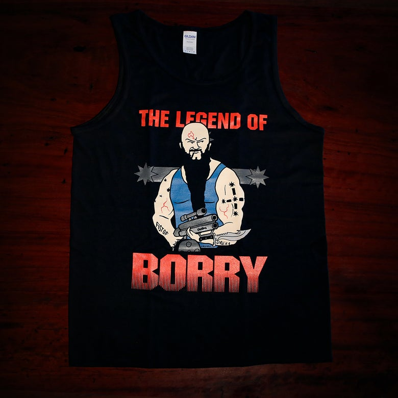 Image of The Legend of Borry - Predator Singlet