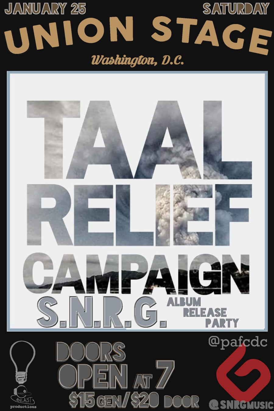 Image of Taal Relief Campaign with S.N.R.G.