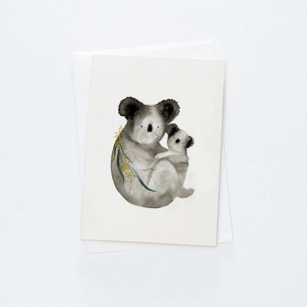 Image of Koala Cuddle Card