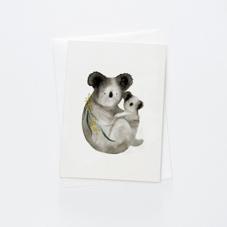Image of Koala Cuddle Card