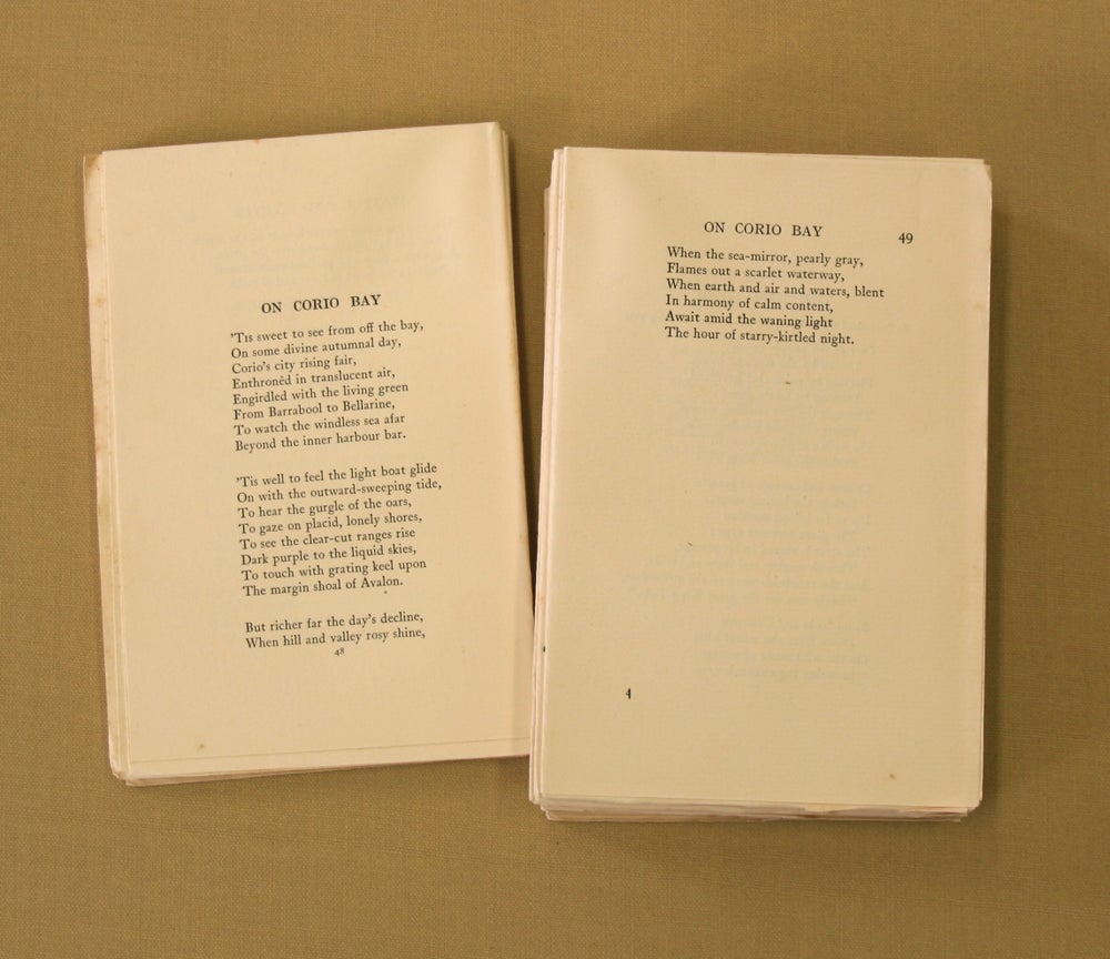 Image of Barwon Ballads and School Verses