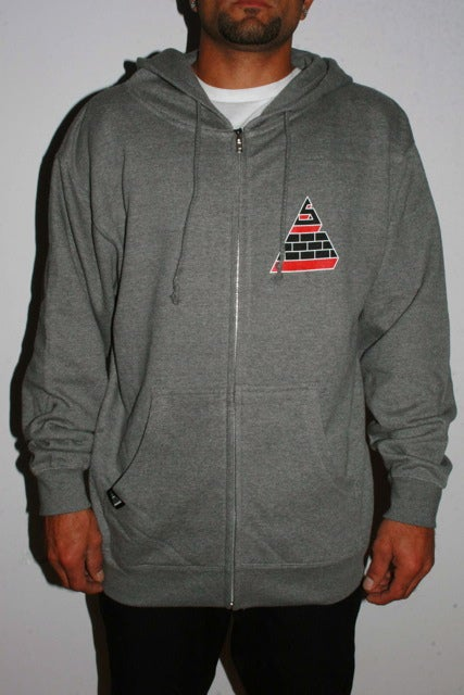 Image of Blood Sweat Smoke Hoodie Static Grey
