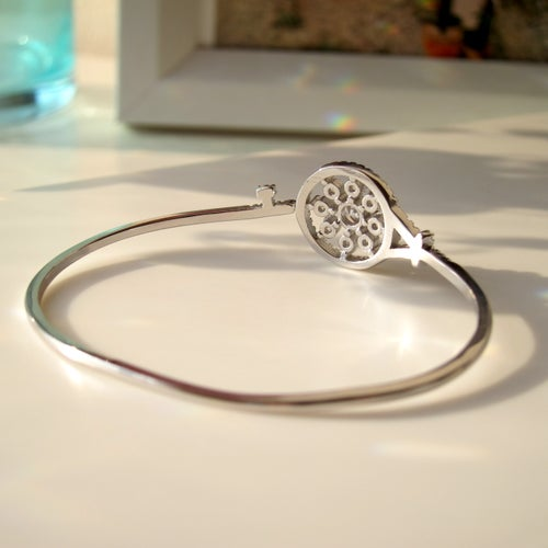 Image of Key To My Heart bangle