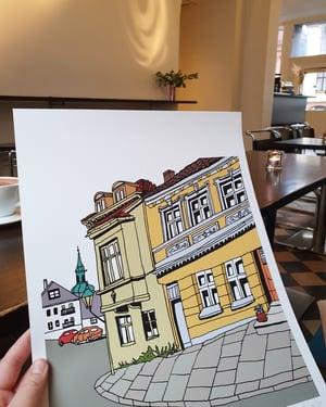 Image of Ved hushjørnet
