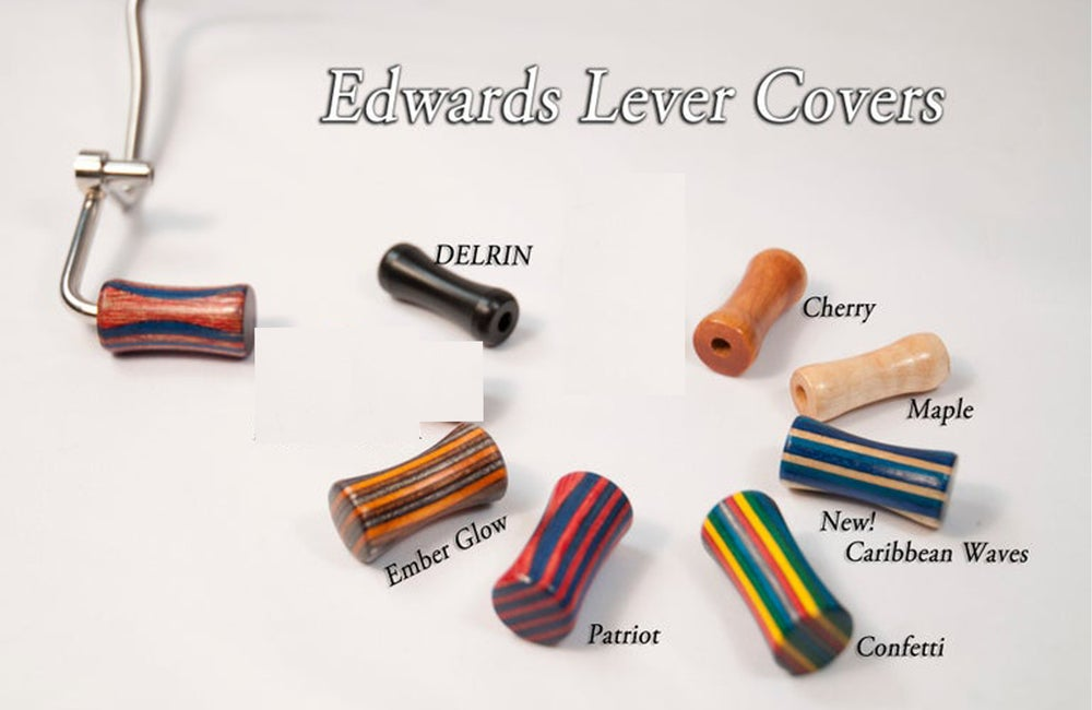 Image of Wood Trombone Lever Covers