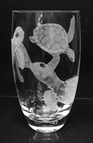 Image of Large turtles vase