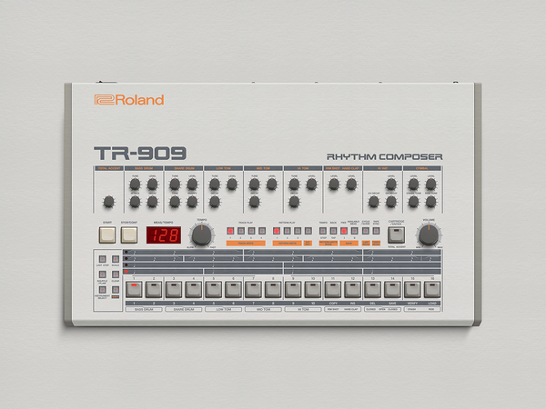 Image of The Roland TR-909