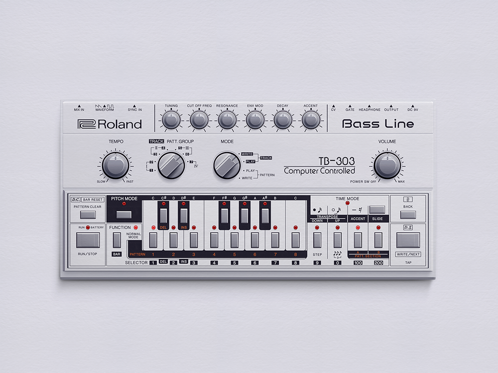 Image of The Roland TB-303