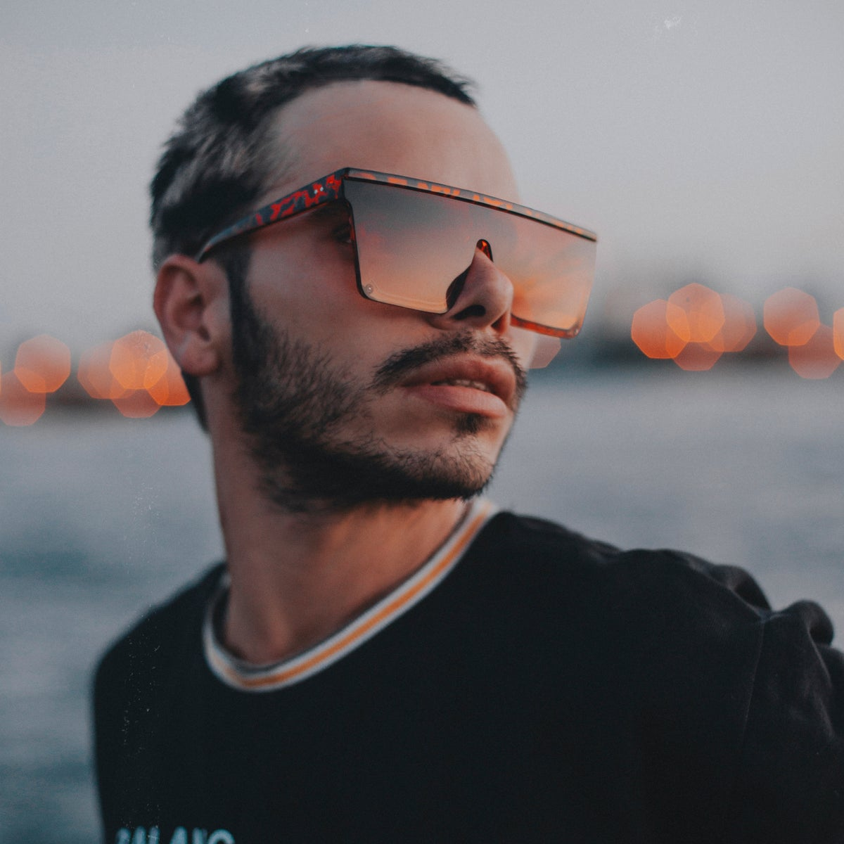 Image of VF by Valentina Fradegrada - TORTOISE SUNGLASSES for MEN