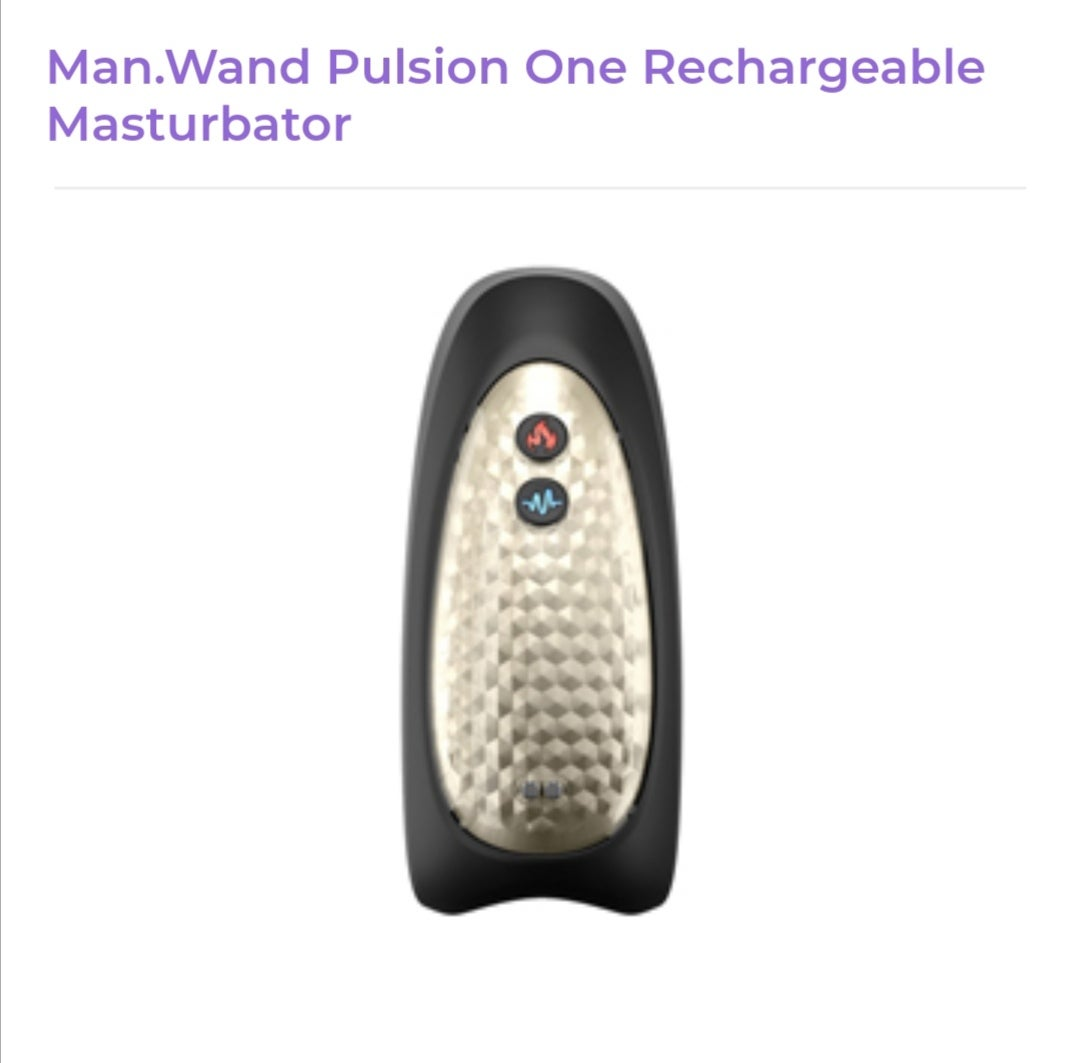 Image of Man Wand Pulsion Rechargeable Masturbator