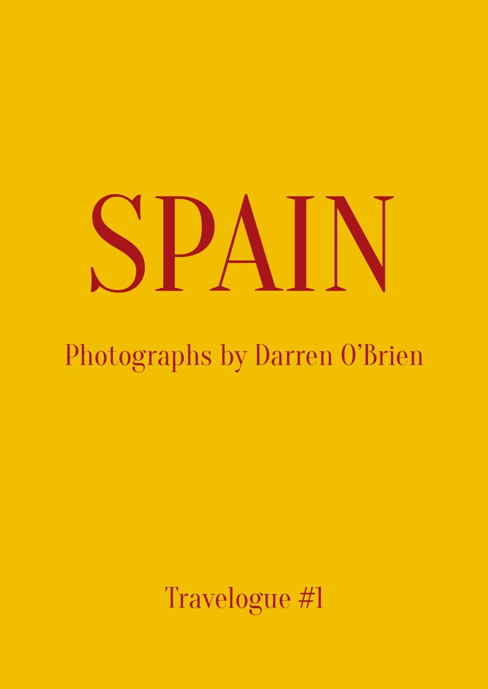 Image of Travelogue #1: Spain by Darren O'Brien